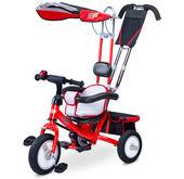 Rowerek do prowadzenia trójkołowy Derby Toyz Caretero czerwony