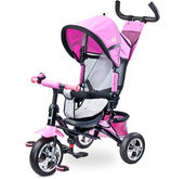 różowy rowerek dla dziewczynki