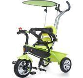 rowerek dla rocznego chłopca trójkołowy Tobi Tech Kidz Motion zielony