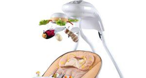 Huśtawka niemowlęca CARETERO BUGIES elektryczna