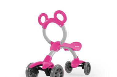 jeździk dla dziewczynki MILLY MALLY ORION różowy