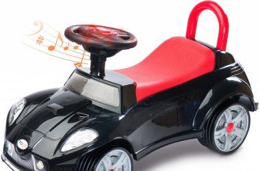 Jeździk pchacz dla dzieci TOYZ CART czarny