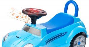 Jeździk pchacz dziecięcy TOYZ CART niebieski
