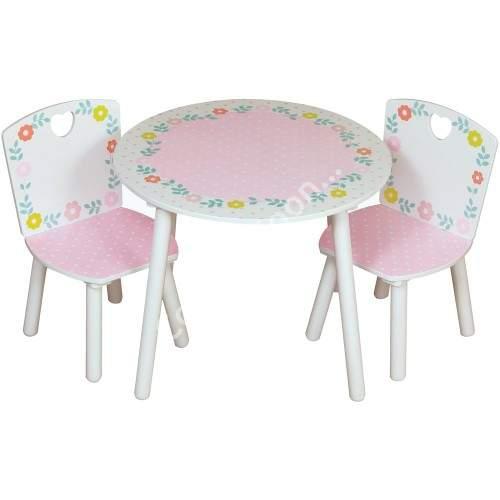 stolik z krzesełkami dla dzieci Kidsaw Country Cottage