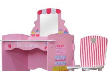 toaletka dziecięca i krzesło Kidsaw Komplet Patisserie