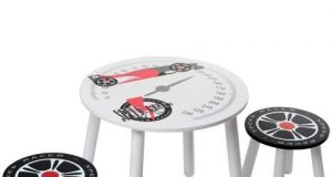 Kidsaw Speed Racer Zestaw Stolik i 2 krzesełka