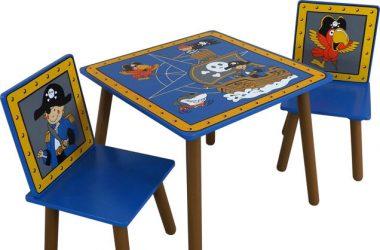Stolik i krzesełka dla chłopca Kidsaw seria Piraci