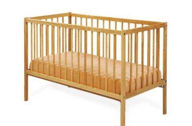 Zwykłe łóżeczko dla dziecka drewniane Katarzynka