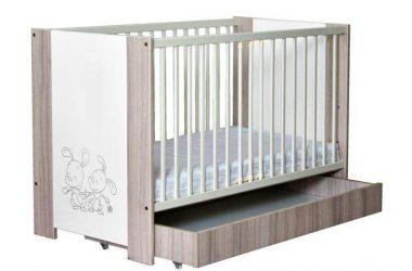Łóżeczko dla dziecka Friends + szuflada