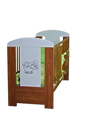 Łóżeczko dziecięce z szufladą Elephant