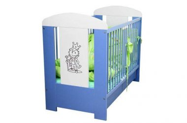 Łóżeczko dla chłopca z szufladą Prince