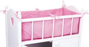 łóżeczko dla lalek z szafką