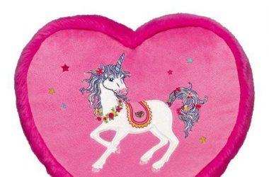 Poduszka serce ze skrytką dla dzieci Księżniczka Lillifee