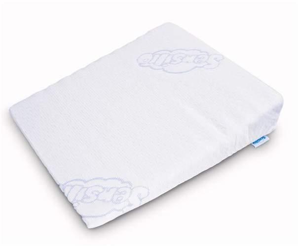 poduszka klin dla dziecka ułatwiająca oddychanie 38x30 cm
