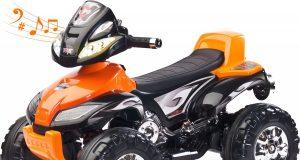 Elektryczny pojazd dla dzieci QUAD TOYZ CUATRO pomarańczowy