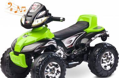 Pojazd na akumulator QUAD TOYZ CUATRO zielony