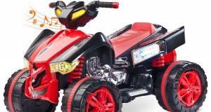 pojazd elektryczny dla dzieci QUAD TOYZ RAPTOR czerwony