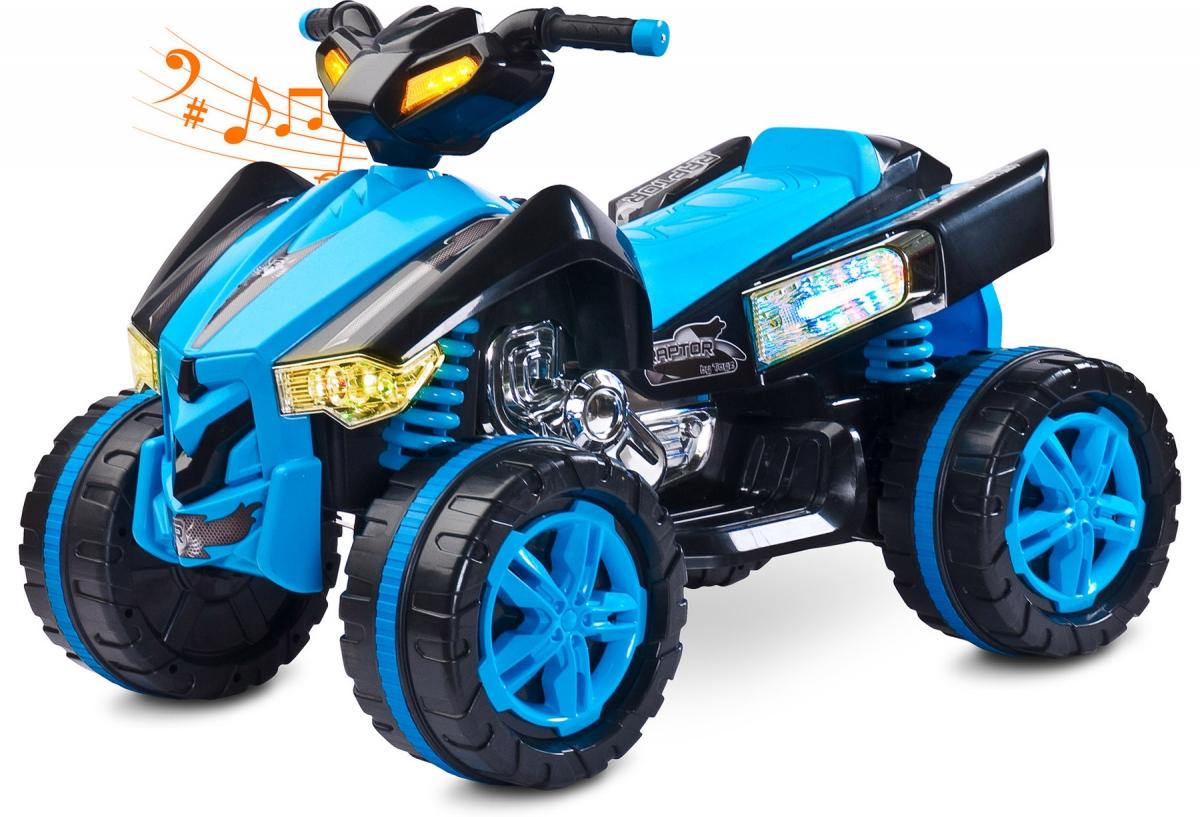 Quad elektryczny dla dzieci TOYZ RAPTOR niebieski