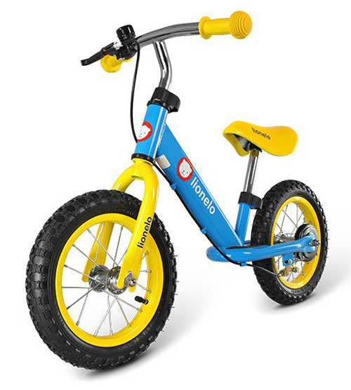 rowerek biegowy dla 2 latka LIONELO DEX BLUE