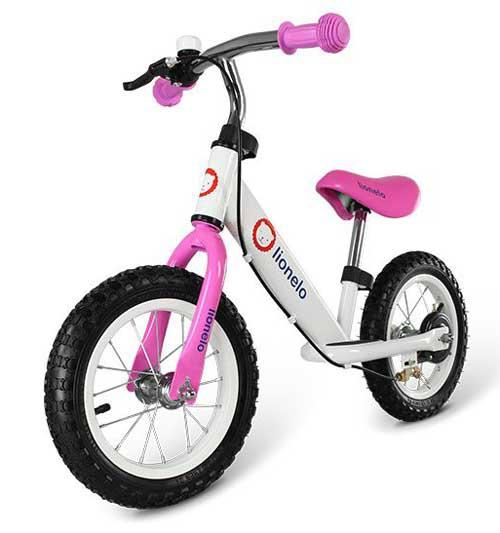 rowerek biegowy Lionelo DEX różowy