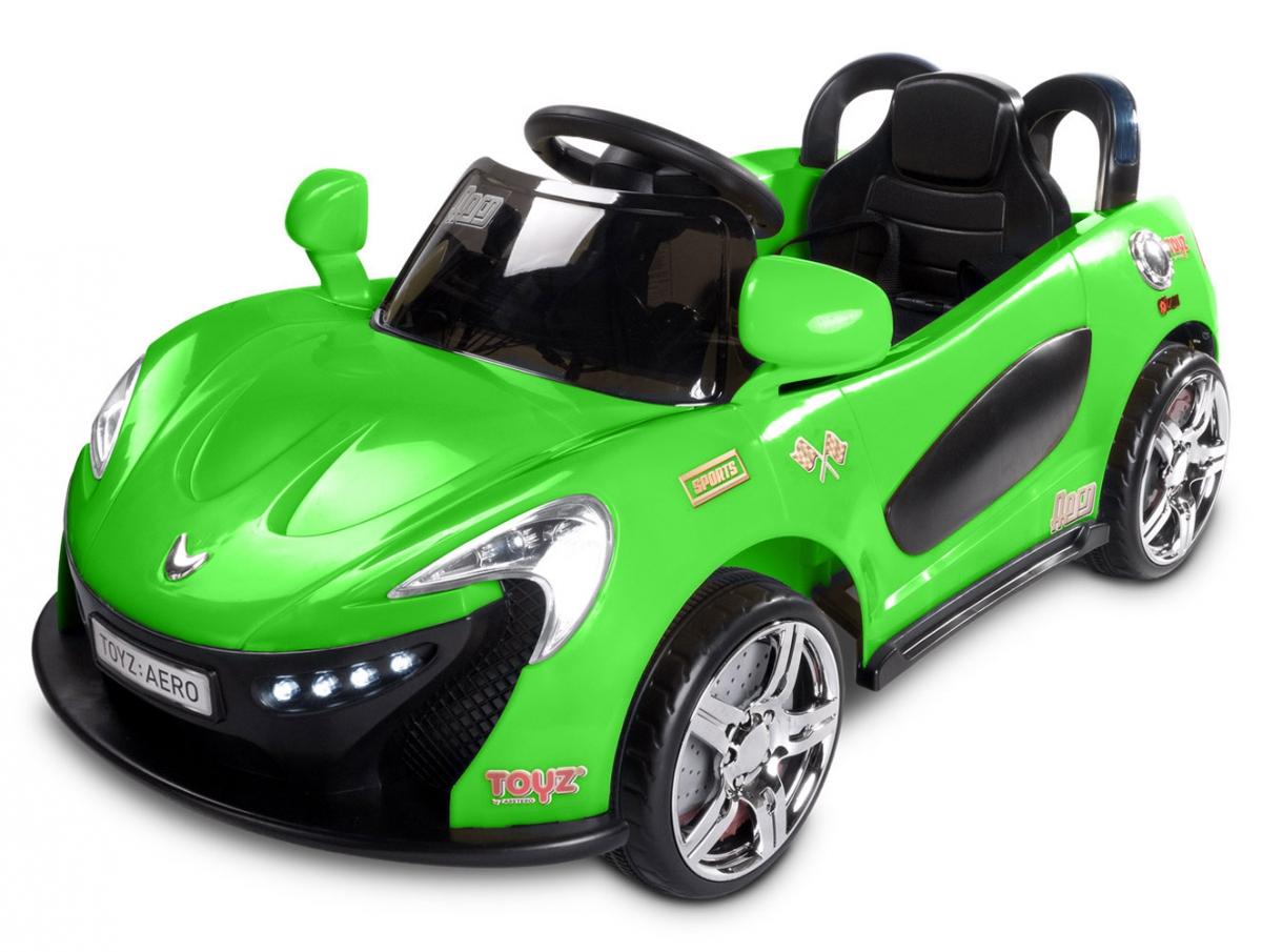 Duży samochód dla dziecka TOYZ AERO zielony