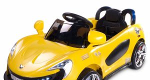 pojazd na akumulator dla dzieci TOYZ AERO żółty