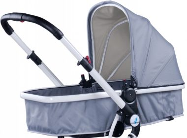 Wielofunkcyjny wózek dziecięcy CARETERO COMPASS szary