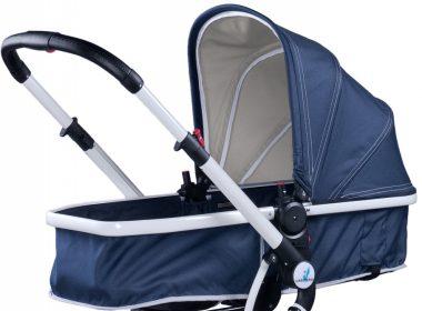 Wózek dla niemowląt CARETERO COMPASS granatowy
