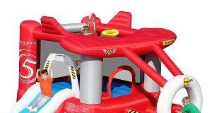 dmuchaniec dziecięcy czerwony samolot