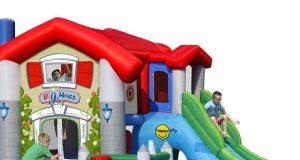 Duży dmuchany plac zabaw dla dzieci