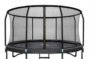trampolina dla dzieci ogrodowa