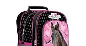Szkolny plecak z koniem Ma Belle Cheval