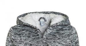 Przejściowa kurtka dla chłopca ocieplana polarem