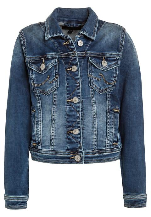 Jesienna kurtka jeansowa dla dziewczynki