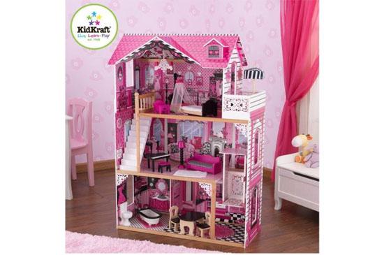 Amelia drewniany domek dla lalek Kidkraft