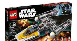 Klocki LEGO Star Wars Y-wing Starfighte 75172 od 8 lat