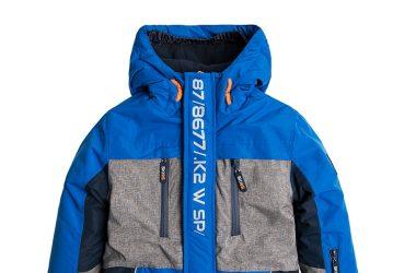 Kurtka narciarska z polarem dla chłopca