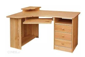 Biurko młodzieżowe MEBLO-DREW NAROŻNE PRAWE
