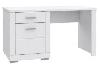 Białe biurko dla dziecka FORTE SNOW