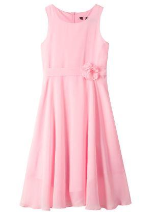 Różowa sukienka dla dziewczynki na uroczyste okazje