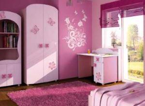 Różowe meble dla dziewczynki  BAGGI DESIGN CINDI